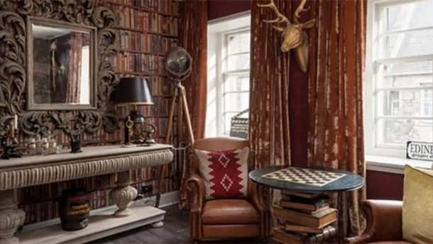 В Эдинбурге стилизовали квартиру под романы о Гарри Поттере
