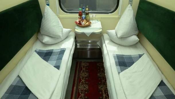 Нова постільна білизна в поїздах