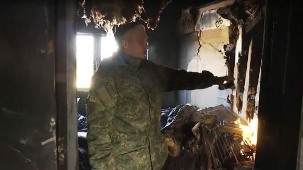 В Киевской области сгорел дом многодетного бойца АТО