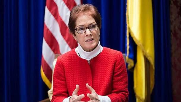 Посол США Марі Йованович зробила заяву щодо окупованого Донбасу
