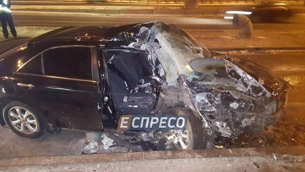 Моторшна авария в Киеве