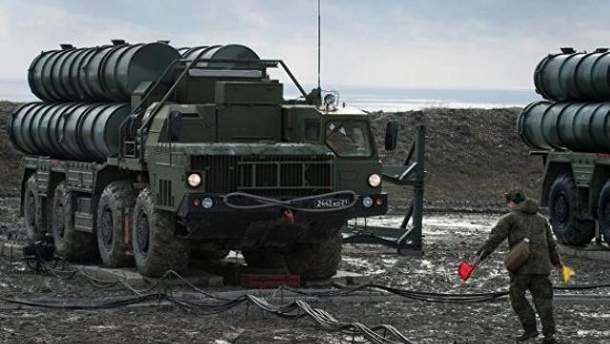 ЗРК С-400 в Крыму