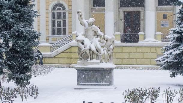 Снігопад в Одесі 16 січня