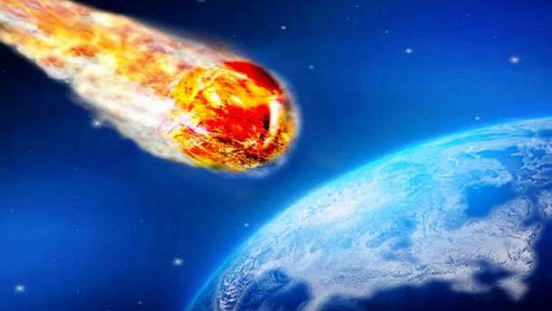 В США упал метеорит