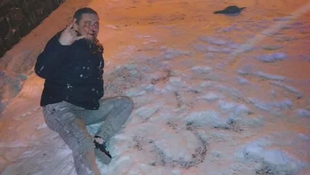 Максим Барна после избиения