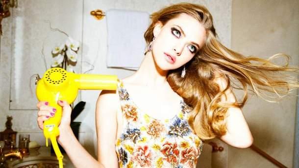 Аманда Сейфрід у модній зйомці для глянцю