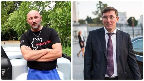 Олексій Мочанов і Юрій Луценко