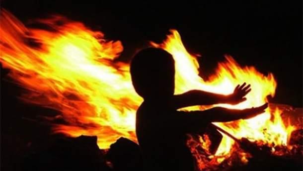 Трое детей погибли в пожаре в Херсонской области