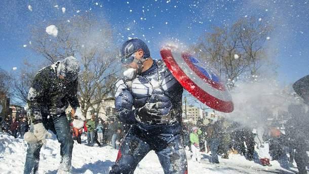Норвежець поплатився за те, що закидав поліцейських сніжками (ілюстрація)