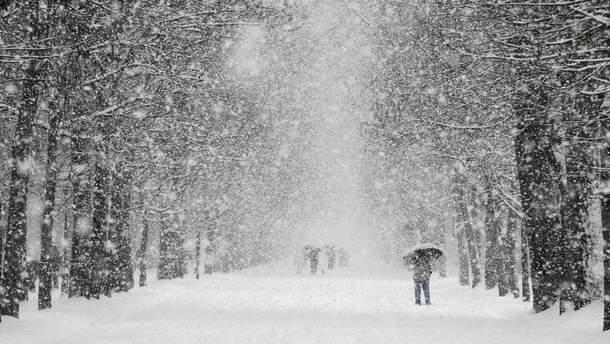 Непогода в Украине 18 января