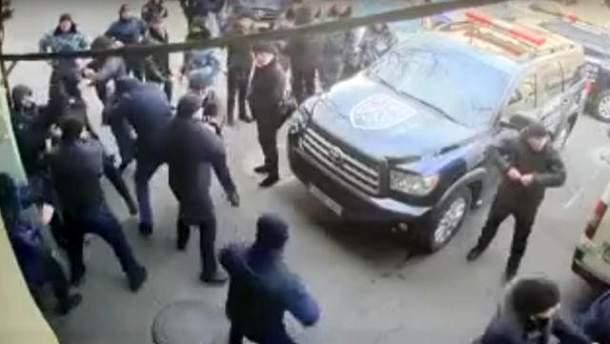 Массовая драка в Одессе