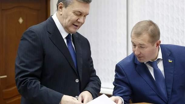 Виктор Янукович и Виталий Сердюк