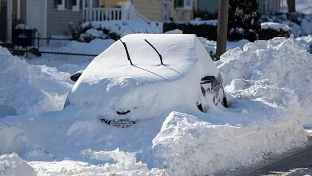 Сніговий шторм у США