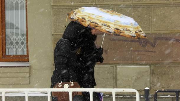 Погода 19 січня в Україні: на більшості території будуть опади