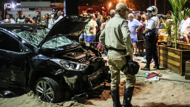 Аварія в Ріо-де-Жанейро