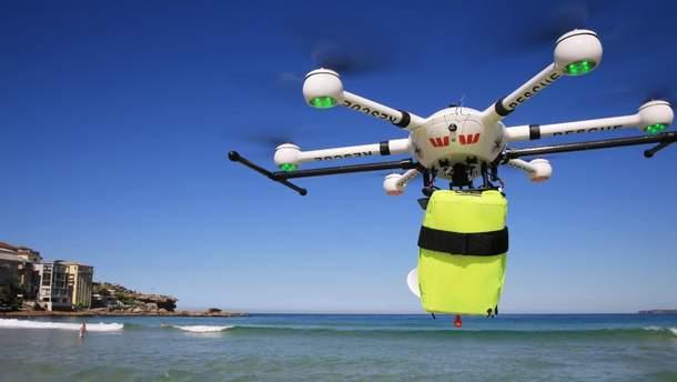 В Австралии дрон спас двоих утопающих подростков