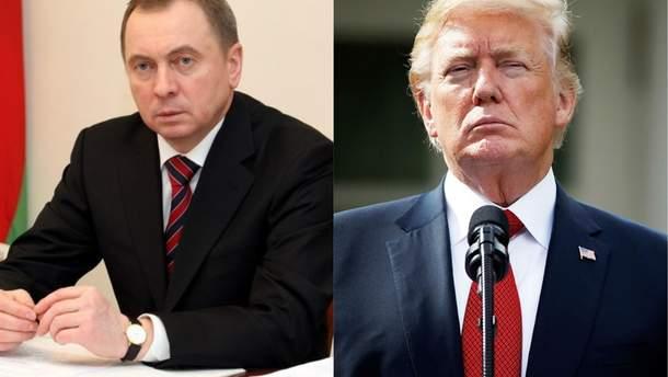 Макей ответил на предложение Трампа говорить о конфликте на Донбассе в другом месте