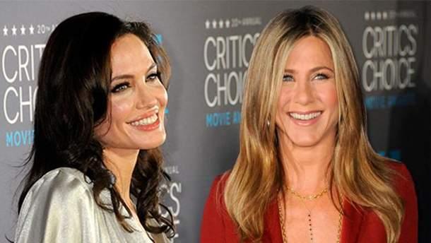 Хто краще цілується – Дженніфер Аністон чи Анджеліна Джолі