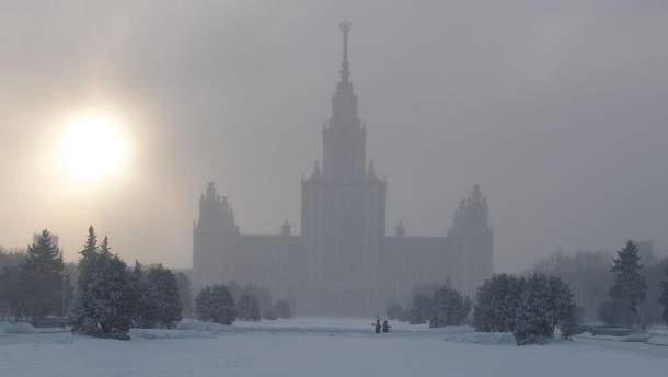Грудень 2017 року у Москві був найтемнішим місяцем за останній час