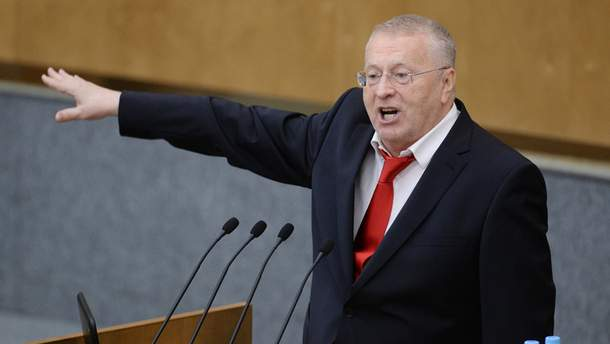 Жиріновський пригрозив українцям