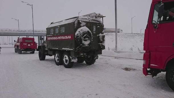 Непогода в Украине 19 января продолжается