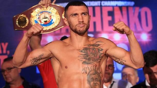 Василий Ломаченко выйдет на ринг в апреле 2018 года