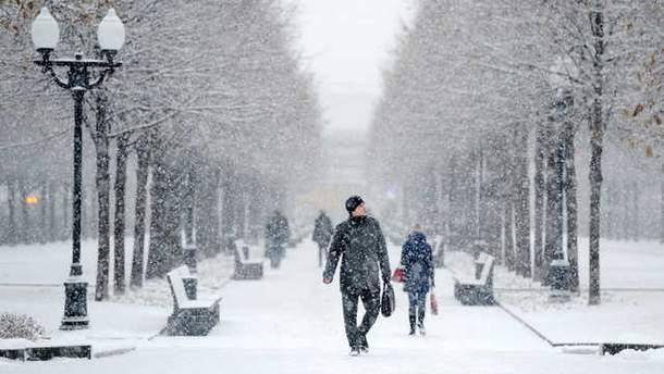 В Україна оголошено штормове попередження