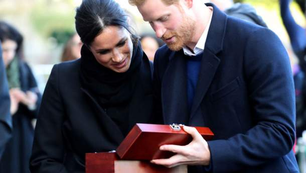 Свадебный подарок для принца Гарри и Меган Маркл
