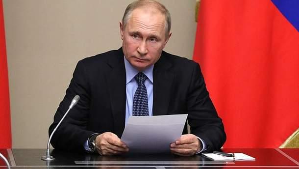 Путін провів Радбез через закон про реінтеграцію Донбасу