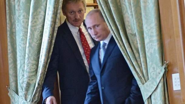 Пєсков та Путін