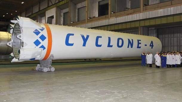 """Ракета """"Циклон-4М"""""""