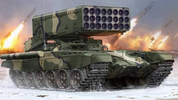 Вогнеметна система ТОС-1