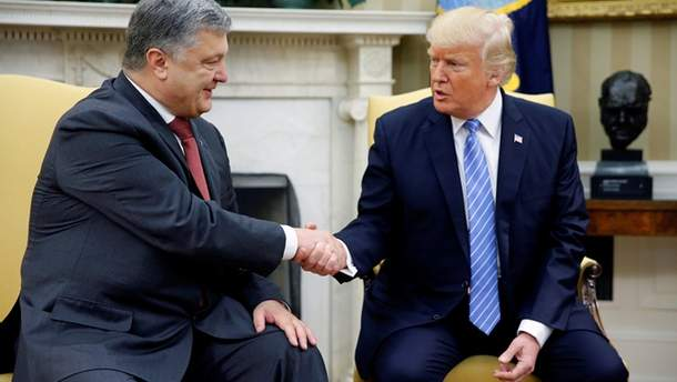 Зустріч Порошенка з Трампом