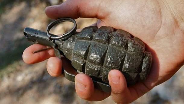 Вибух гранати у Донецьку