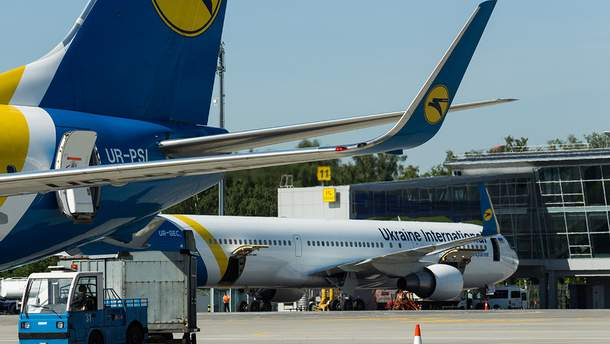 МАУ отрицает аварийную посадку в Одессе