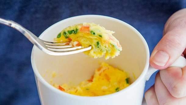 Рецепти сніданку в мікрохвильовці