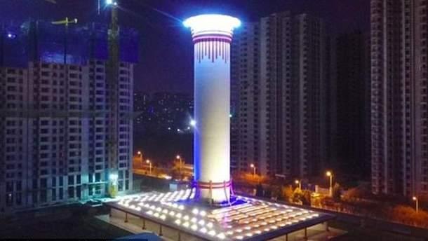 Найбільший в світі очищувач повітря