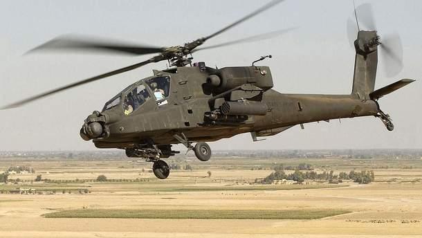 Военный вертолет AH-64 Apache