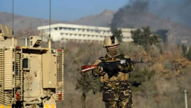 Атака на отель в Афганистане