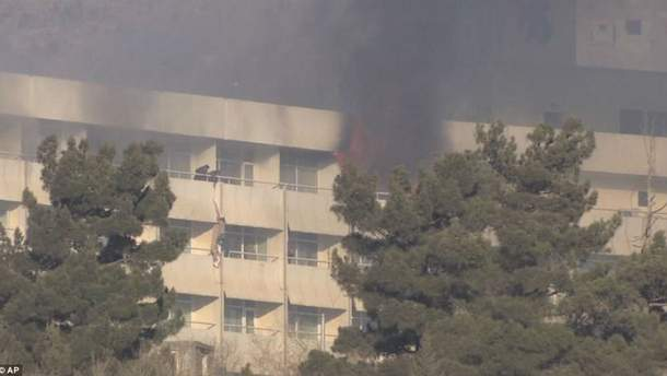 Теракт у  готелі Intercontinental Hotel в Кабулі