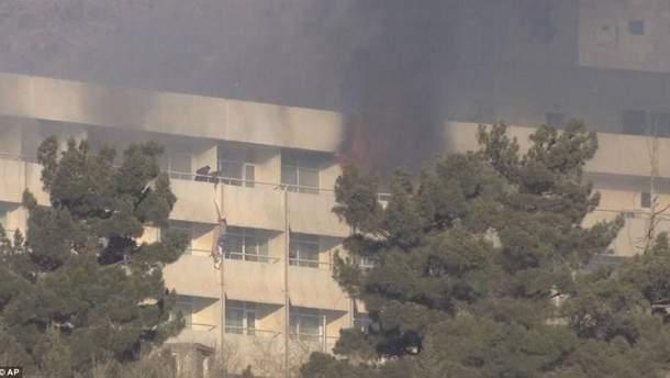 Теракт в отеле Intercontinental Hotel в Кабуле