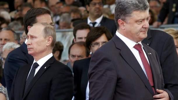 Порошенко не зустрічався з Путіним з моменту укладення мінських домовленостей