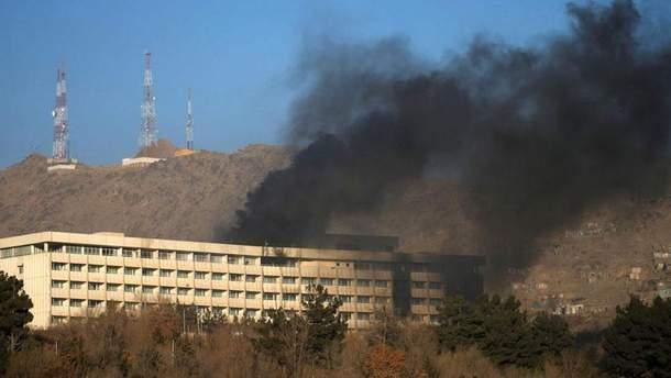 Атака на готель Intercontinental в Кабуле