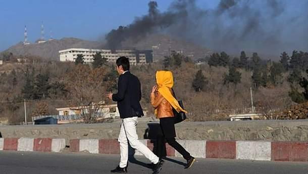 Нарад на готель Intercontinental  у Кабулі