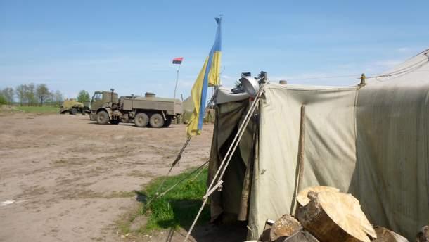 Кроме Майского и Гладосовго, украинские военные взяли еще позиции возле Горловки