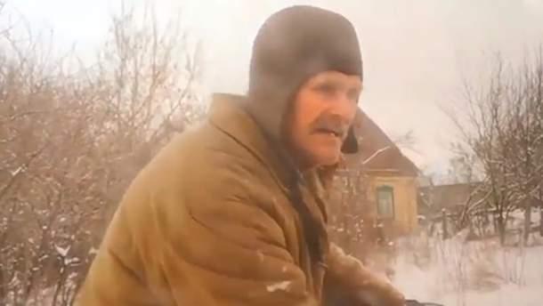 Неоднозначный дедушка с Донбасса