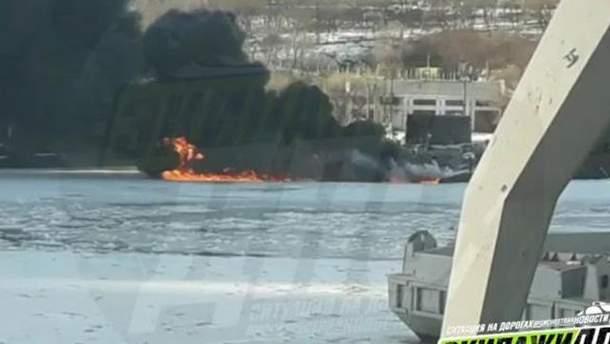 Пожар на подводной лодке во Владивостоке