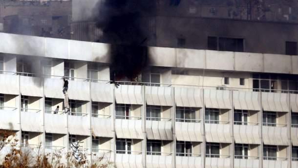 Террористическая атака на отель в Кабуле
