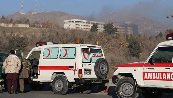 Террористы напали на отель в Кабуле