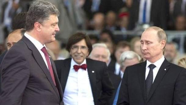 Зустрічі Порошенка з Путіним: Пєсков прокоментував свої слова
